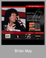 Site officiel de Brian May