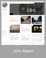 Le site officiel de John Mayer