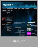 Le site officiel Marillion