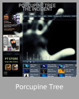 Le site officiel Porcupine Tree